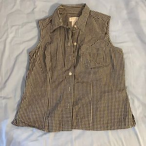 Small Gingham Tank